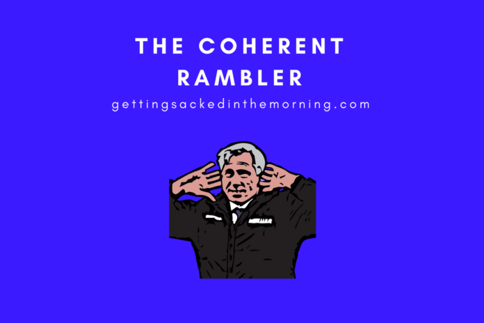 The Coherent Rambler