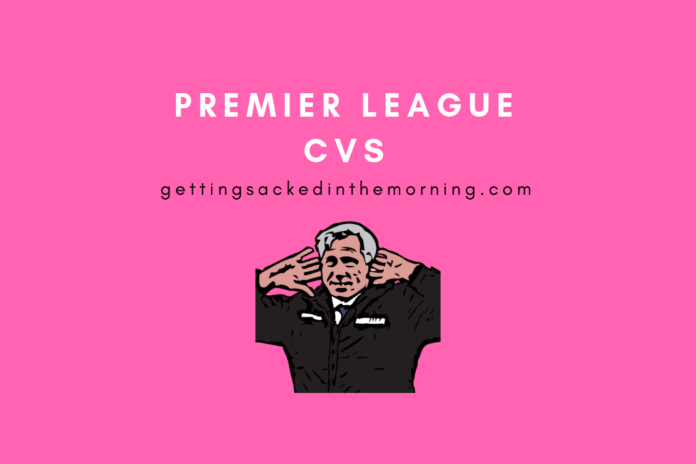 Premier League CVs