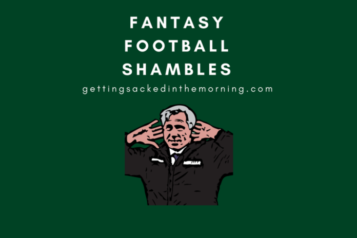 Fantasy Football Shambles Funny Premier League Tips